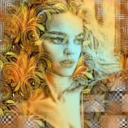 """Портрет """"Golden Lady"""""""